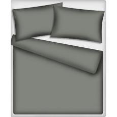 Jednofarebná bavlnená látka tmavo šedá 540-2, metráž 140 cm